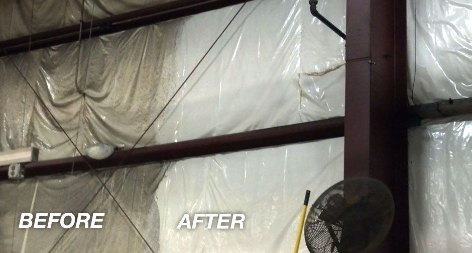 Exterior Interior Wall Washing Industrial One Cleaning